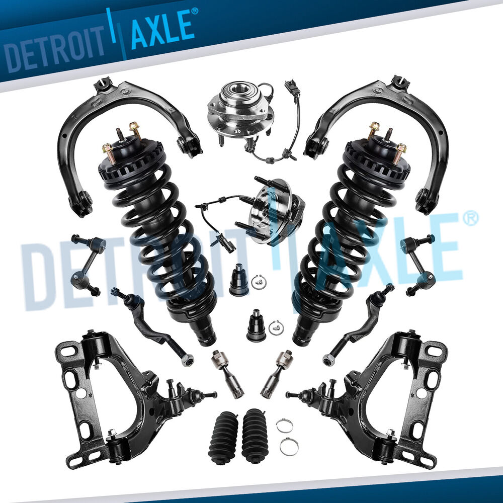 Brand New 12pc Front Suspension Kit For 1994 1999 Toyota: New 18pc Complete Front Suspension Kit For Chevy