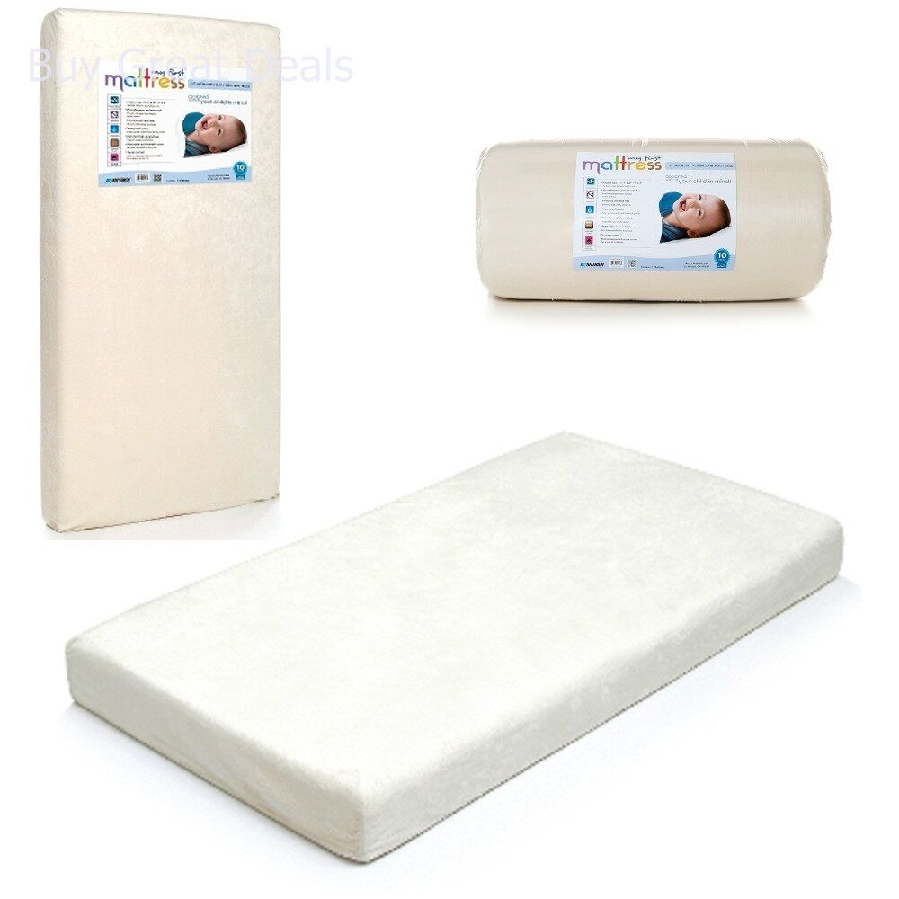 my first mattress crib mattress, memory foam waterproof cover baby