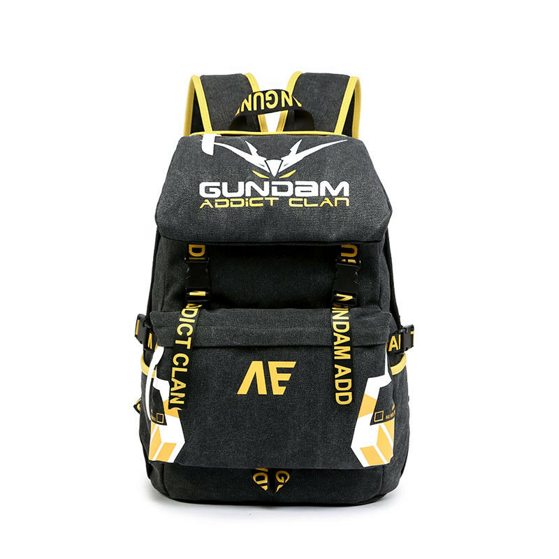 aab465cd4a Details about Anime GUNDAM Banshee Oxford Backpack Laptop Travel Shoulder  Bag Big Capacity COS