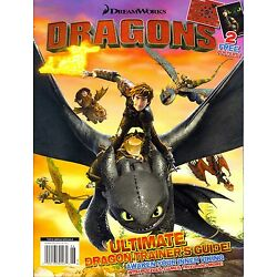 DreamWorks Dragons Ultimate Dragon Trainer's Guide-Posters-Puzzles-Games-Trivia