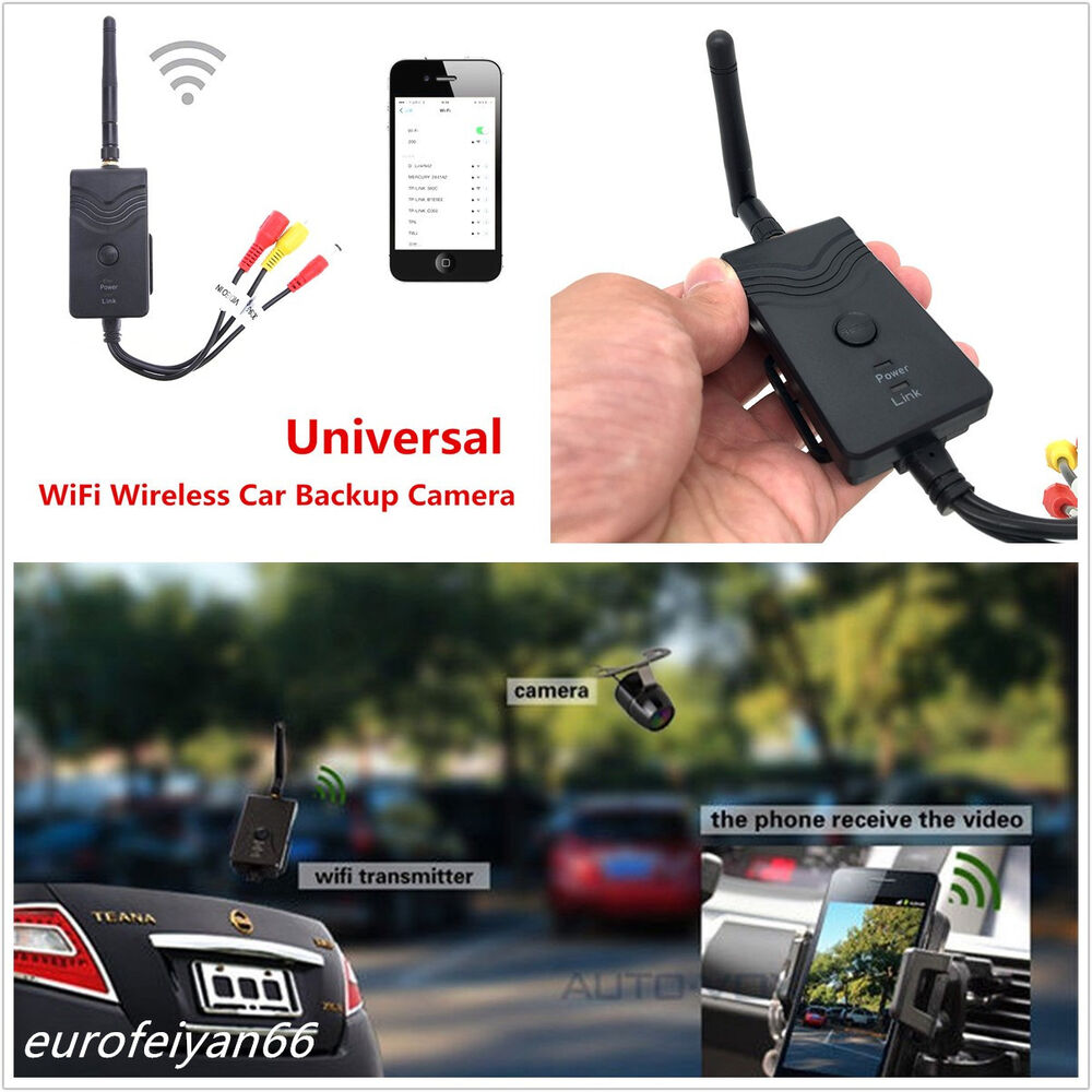 Professional Wifi Wireless Car Reverse Backup Camera Video Rearview 95 Infiniti J30 Fuse Box Transmitter 4362252643722 Ebay
