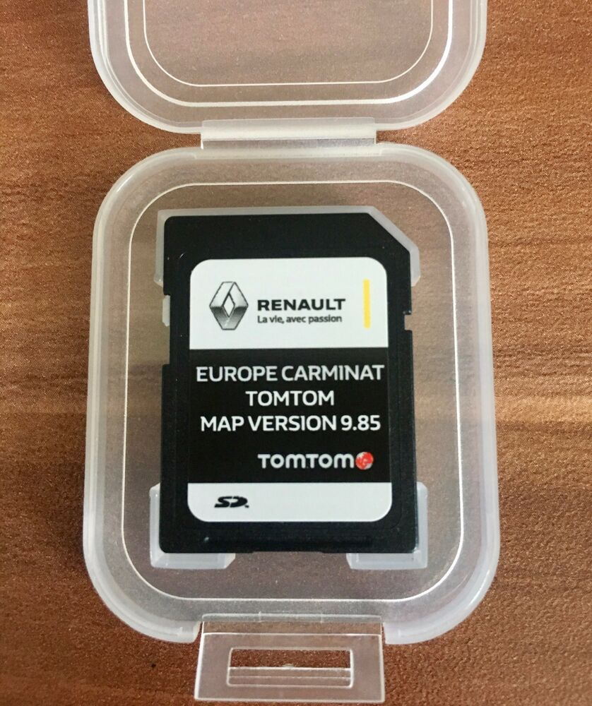 renault carminat tomtom carte sd navigation carte 2017. Black Bedroom Furniture Sets. Home Design Ideas