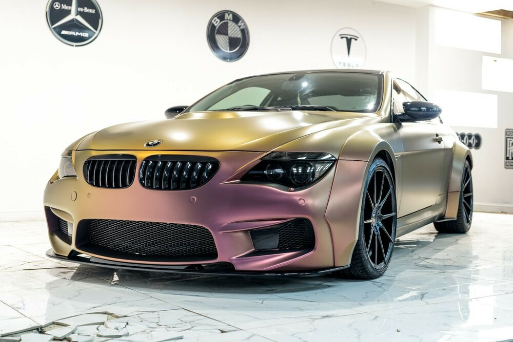 bmw m6 e63 wide full body kit for standard bmw 6 series e63 new ebay. Black Bedroom Furniture Sets. Home Design Ideas