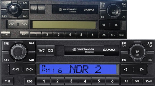 autoradio vw gamma 5 v t5 t4 multivan polo passat golf. Black Bedroom Furniture Sets. Home Design Ideas