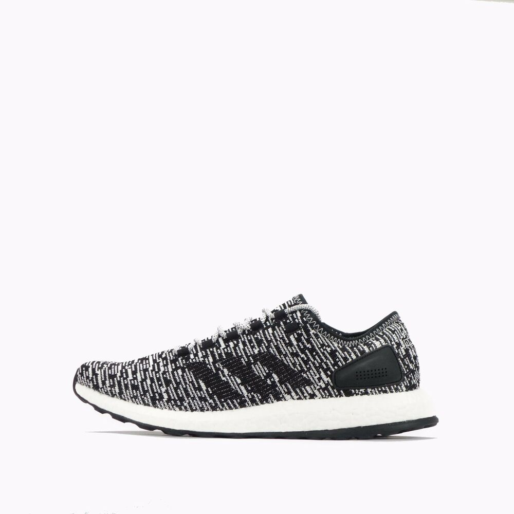e11b48b8ca7 ... cheapest details about adidas pure boost mens running shoes core black  white 85bd8 ac9a9