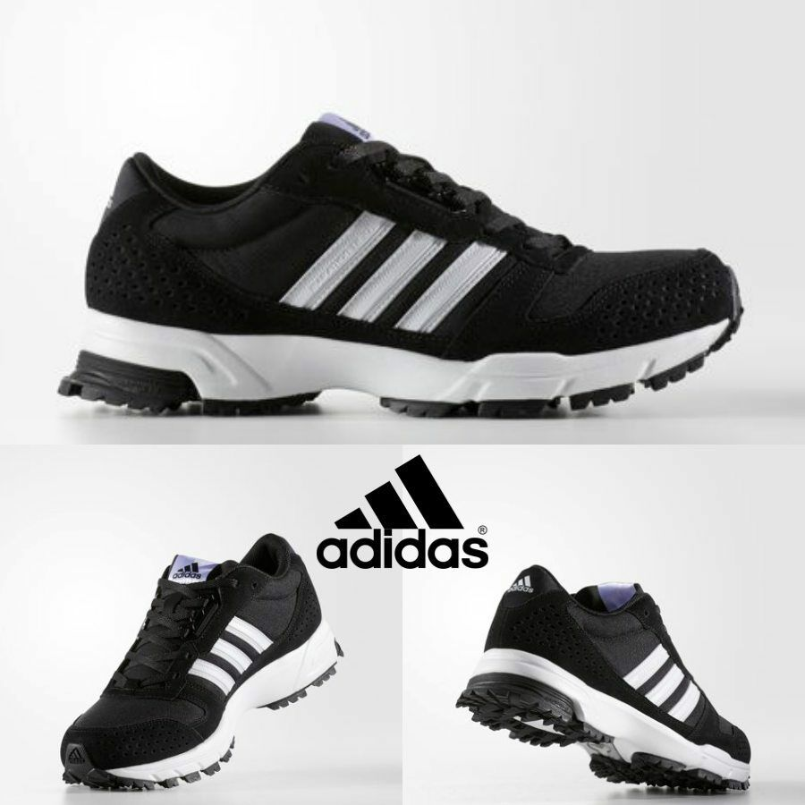 Adidas Original Marathon 10 TR Running Shoes Sneakers Black BW1290 ... 5f6988918ea7b