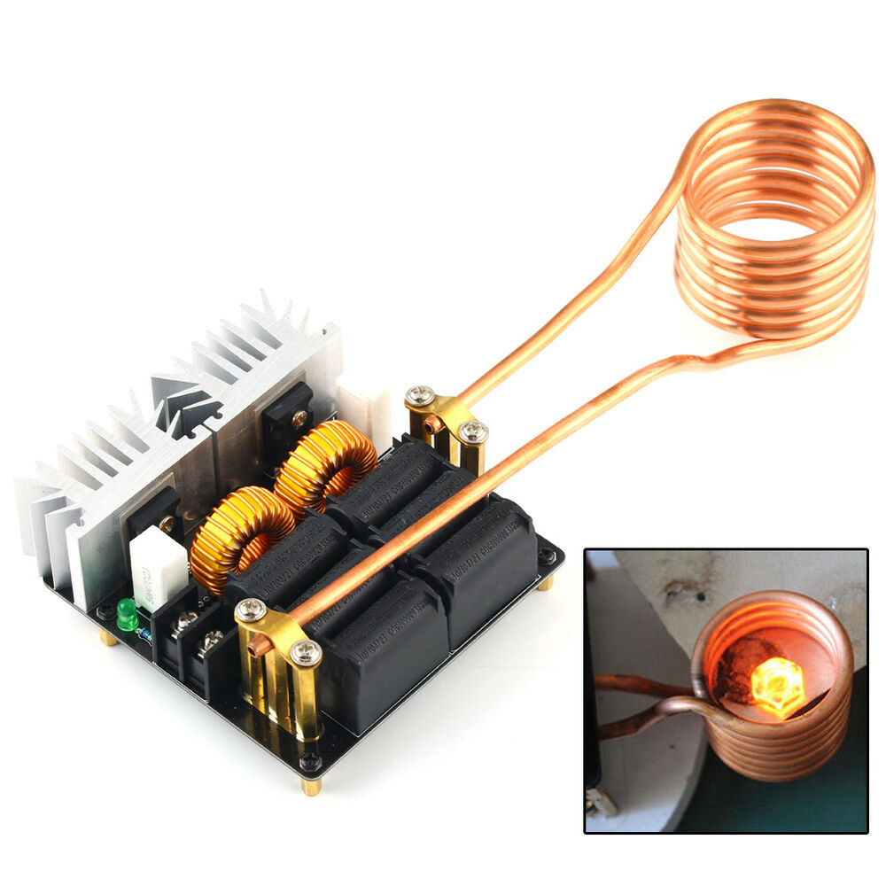 1000w Zvs Low Voltage Induction Heating Board Module Id47mm Coil Circuits Driver Heater Ebay