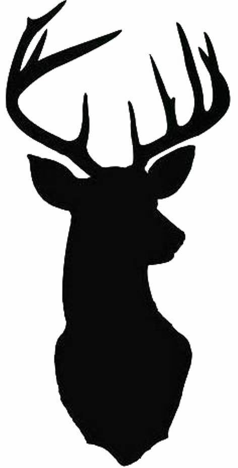 Agile image for free printable deer stencils