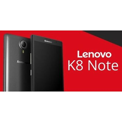 Lenovo K8 Note (gold,balk 32gb)|3gb Ram|13+5/13mp| 1 Year Lenovo Warranty Sealed
