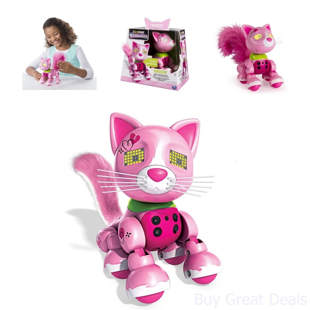 Robot Cat Toy >> Zoomer Meowzies Robot Cat Toy Interactive Toys Cats Robotic Toys For