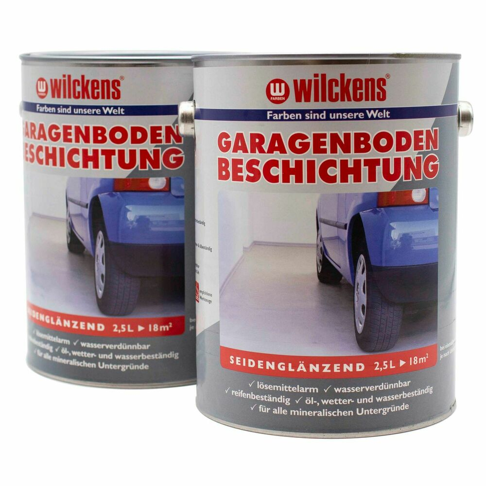 wilckens garagenbodenbeschichtung beton boden versiegelung 2 5 l 9 98 1l ebay. Black Bedroom Furniture Sets. Home Design Ideas