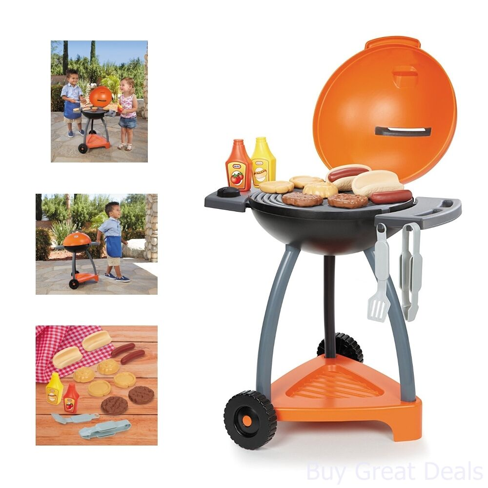 Toddler Kids Grill Cooking Outdoor BBQ Boys Girls Little Tikes Play ...