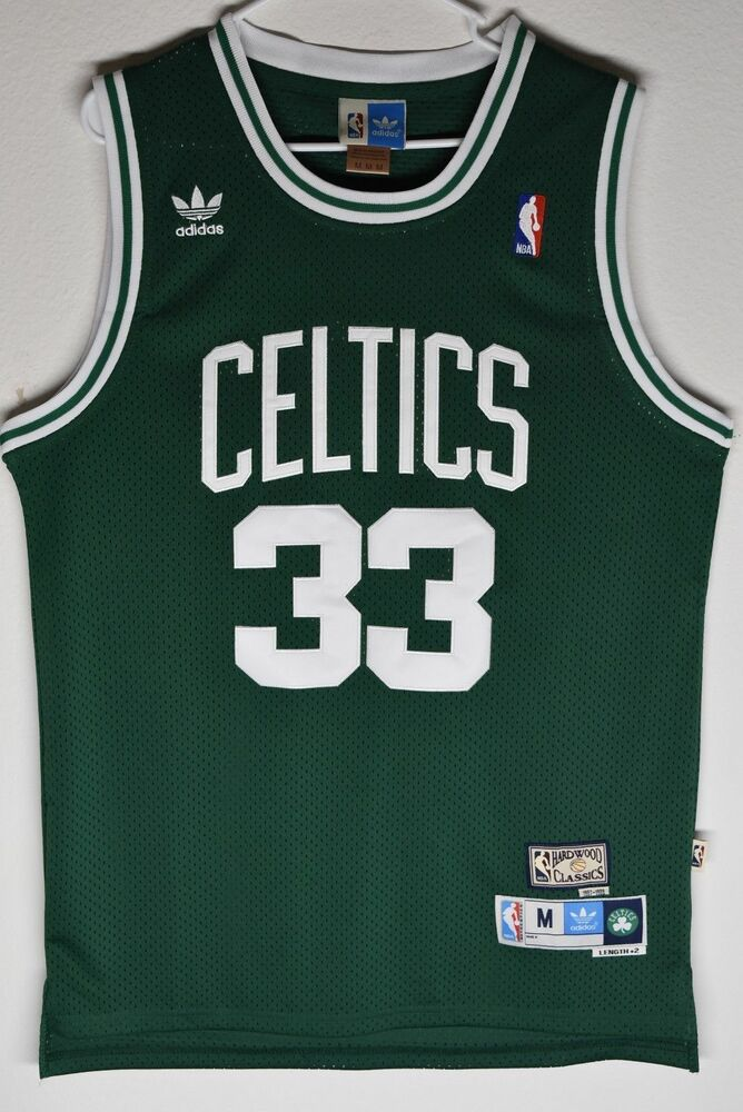 f3220b40c3d ... Boston Celtics Larry Bird Green 33 Throwback Classic Swingman Men Jersey  eBay ...
