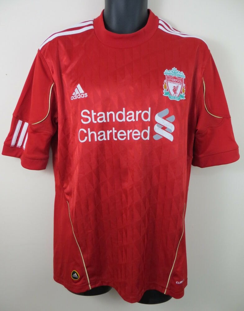Details about Adidas Liverpool Football Shirt 2010-12 Soccer Jersey Maglia  Maillot Men L Large 353b4eaa5e826