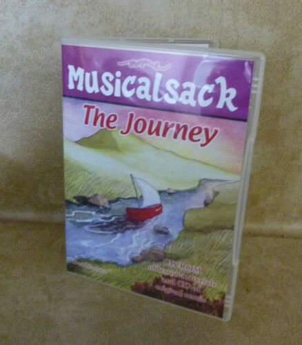 Musicalsack The Journey Neil Griffiths CD ROM Lessons & CD Music