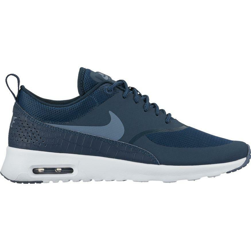huge selection of 6b2b7 7878b Details about Nike Women s Air Max Thea Armory Navy Armory Blue 599409-417  Sz 7.5 - 9.5