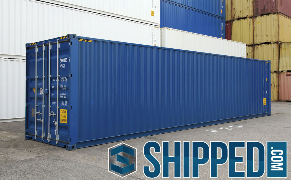 40ft new high cube intermodal shipping container secure for Shipping containers for sale in minnesota