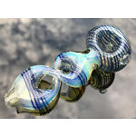 """4"""" Collectible Twist TOBACCO Smoking Pipe Herb bowl Glass Hand Pipes"""