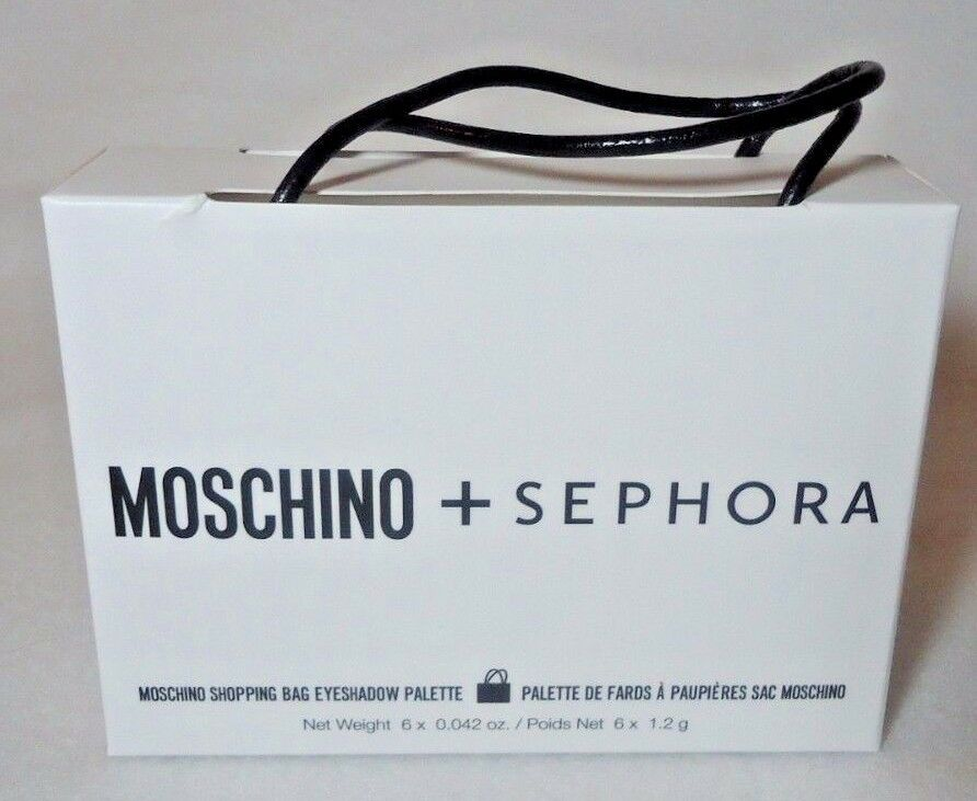 f31271f452f Moschino + Sephora Limited Edition Collection Shopping Bag Eye Shadows  Makeup | eBay