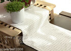 Rural Style Cotton Polka Dot Table Cloth / Cover 0.3 m X 1.8 m