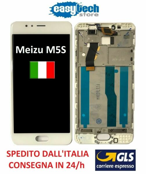 LCD Display Touch Screen FRAME CORNICE Assembly MEIZU M5S MEILAN 5,2