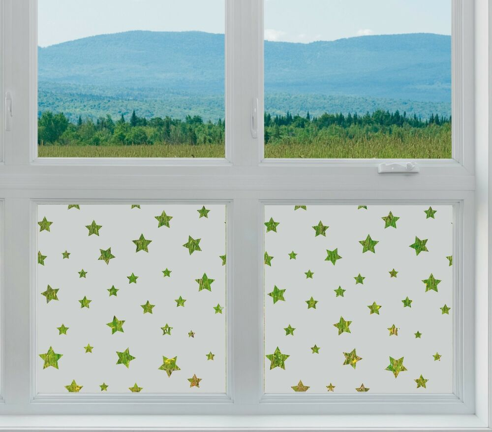 etched glass privacy window film frosted stars pattern shapes childrens nightime ebay. Black Bedroom Furniture Sets. Home Design Ideas