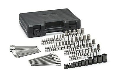 GearWrench 84 Piece SAE/Metric Hex and Torx Bit Socket Set - Part# KD 80742