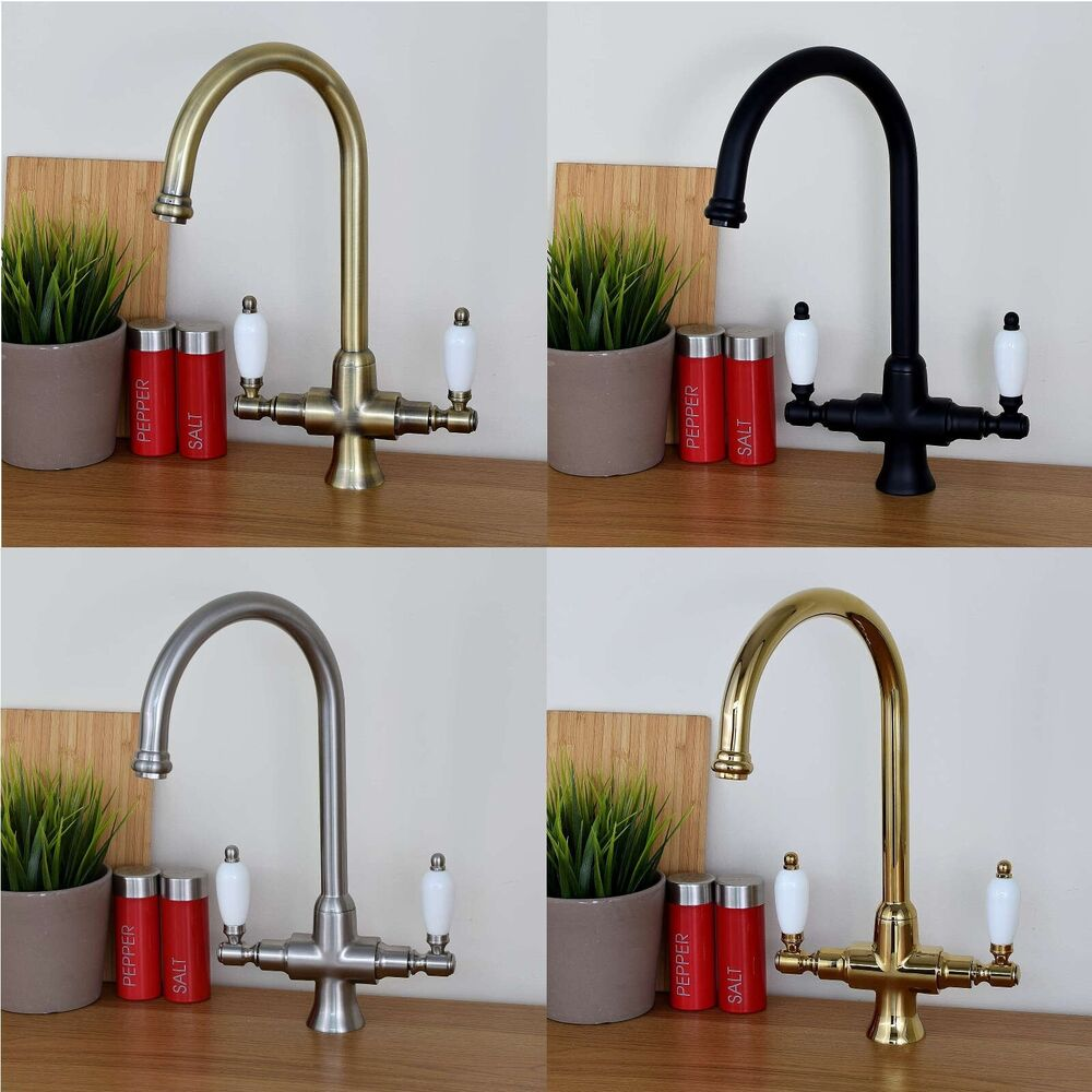 kitchen sink taps ebay enki traditional white lever kitchen sink 5987