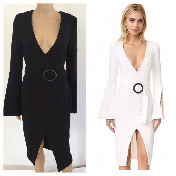 Nicholas Sexy Plunging Neckline Dress Us 4 Sold Out Ebay