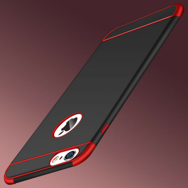 For iPhone 6 X 7Plus Ultra Slim Thin Bumper Case Soft Rubber Silicone Back Cover