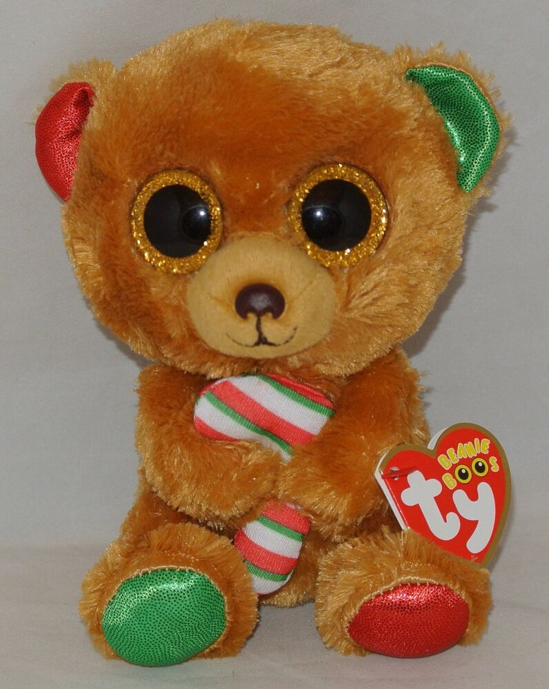 New 2017 Holiday Ty Beanie Boos Bella The Bear 6 Quot Size
