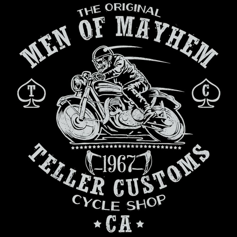 sons of anarchy jax teller samcro men of mayhem motorcycle. Black Bedroom Furniture Sets. Home Design Ideas