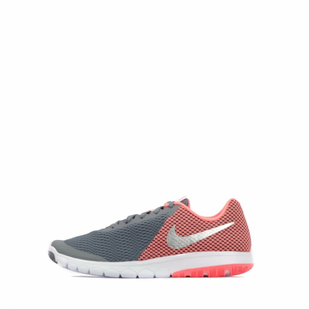 promo code 43b34 02b7f Details about Nike Flex Experience RN 6 Women s running Shoes Cool  Grey Silver