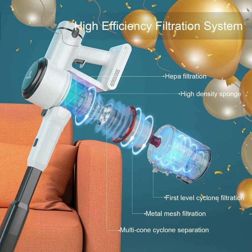New Bissell Fuller Dual Brush Natural Sweeper Rotating