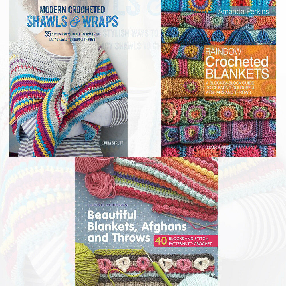 Modern Crocheted Shawls and Wraps, Blankets, Beautiful Blankets Paperback  NEW 9789123626731   eBay
