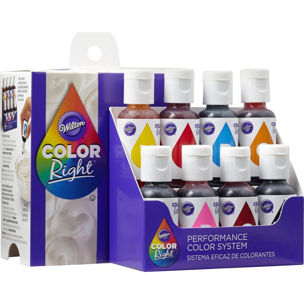 Food Coloring Wilton Color Right Performance Color System Party ...