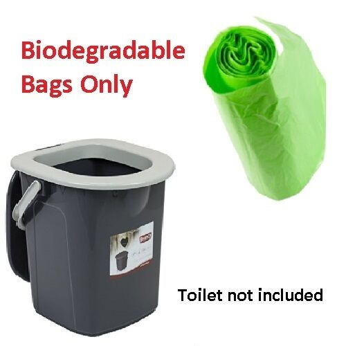 Portable Camping Caravan Biodegradable Bags Liners Only