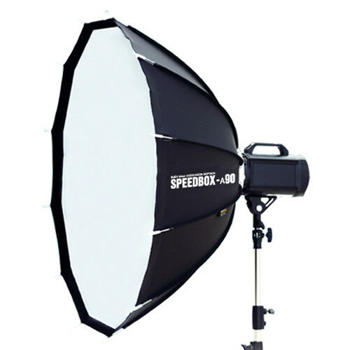 "Smdv Mount Adapters For Alpha Speedbox: SMDV ALPHA SOFT SPEED-BOX A90 35"" Diffuser F/ Studio Speed"