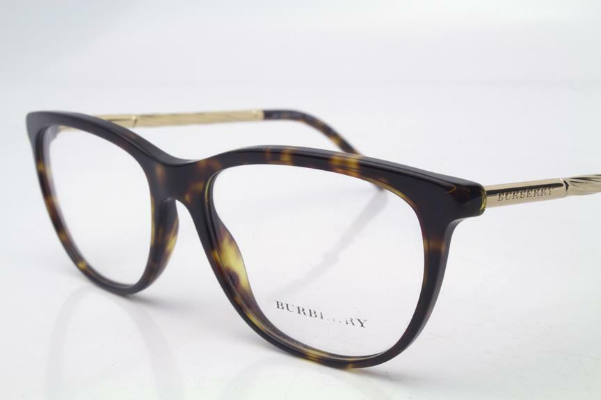 24a1e29b1a3 Details about Burberry BE 2189 Eyeglasses Havana Gold 3002 Authentic 52mm