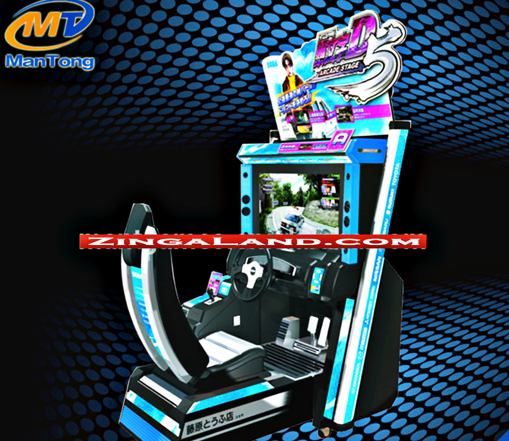 Initial D Stage 6 Arcade Game Street Racing Retail Coin