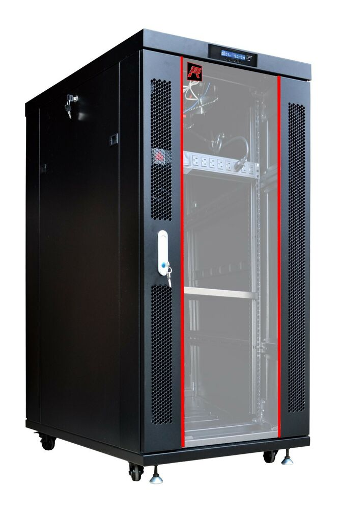 Sysracks 22u 35 Quot Deep Server It Lockable Network Data Rack