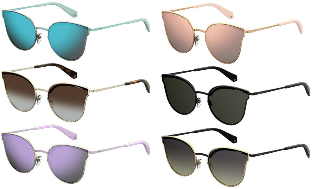 298bcde0f5 Details about Polaroid PLD4056 S Women Butterfly   Round sunglasses with  Polarized lens