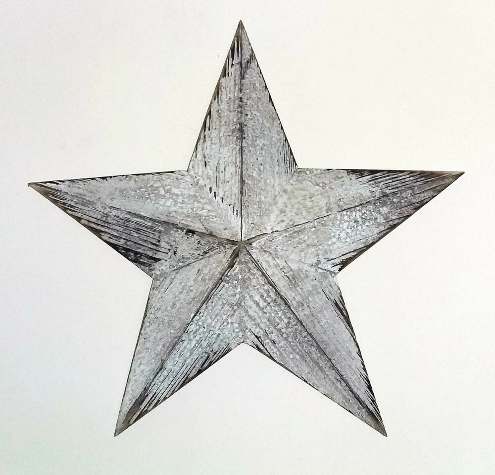 Star Wall Art Wooden Wall Hangings  Ebay