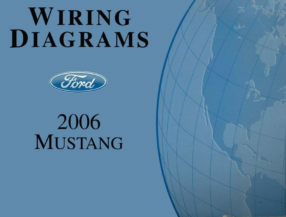 2006 Ford Mustang Wiring Diagrams Schematics Drawings