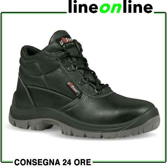 Scarpe antinfortunistiche U Power Safe S3 SRC alte da lavoro UPower in pelle