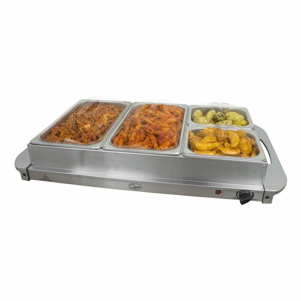 Large Food Warmer ~ Buffet warmer food server w stainless steel pan large