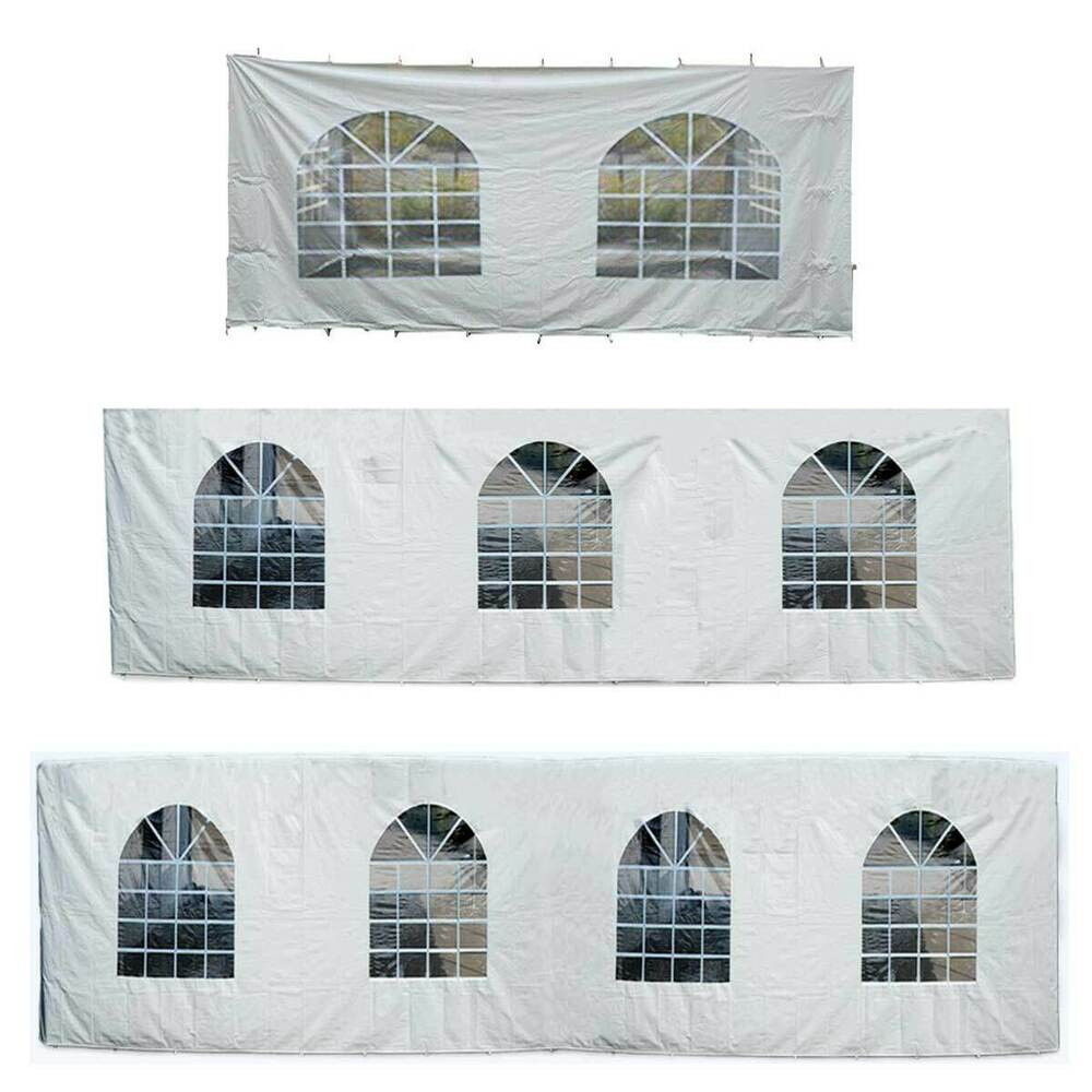Party Tent Arched Window Sidewall 7 8 9 Foot Waterproof