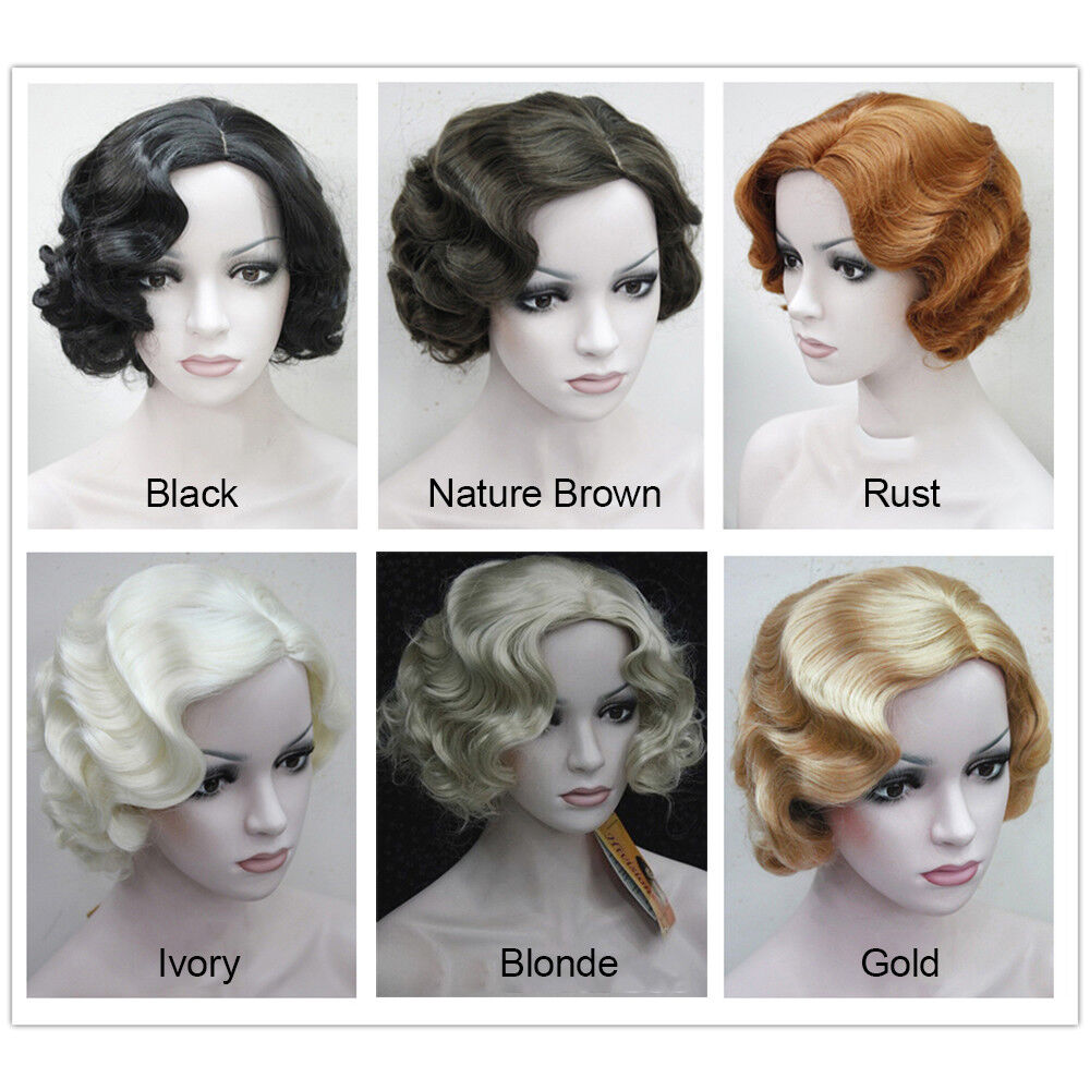 Details about Vintage Short Wigs Marilyn Monroe Wig Women Party Fancy Dress  Costume Accessreis 59ddcd6243a0