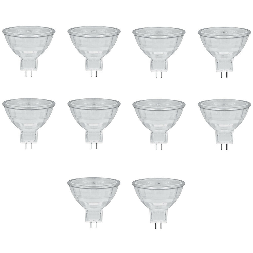 10er pack osram led star mr16 gu5 3 4 6 watt 35 watt 350 lumen 36 warmwei 4260468845414 ebay. Black Bedroom Furniture Sets. Home Design Ideas