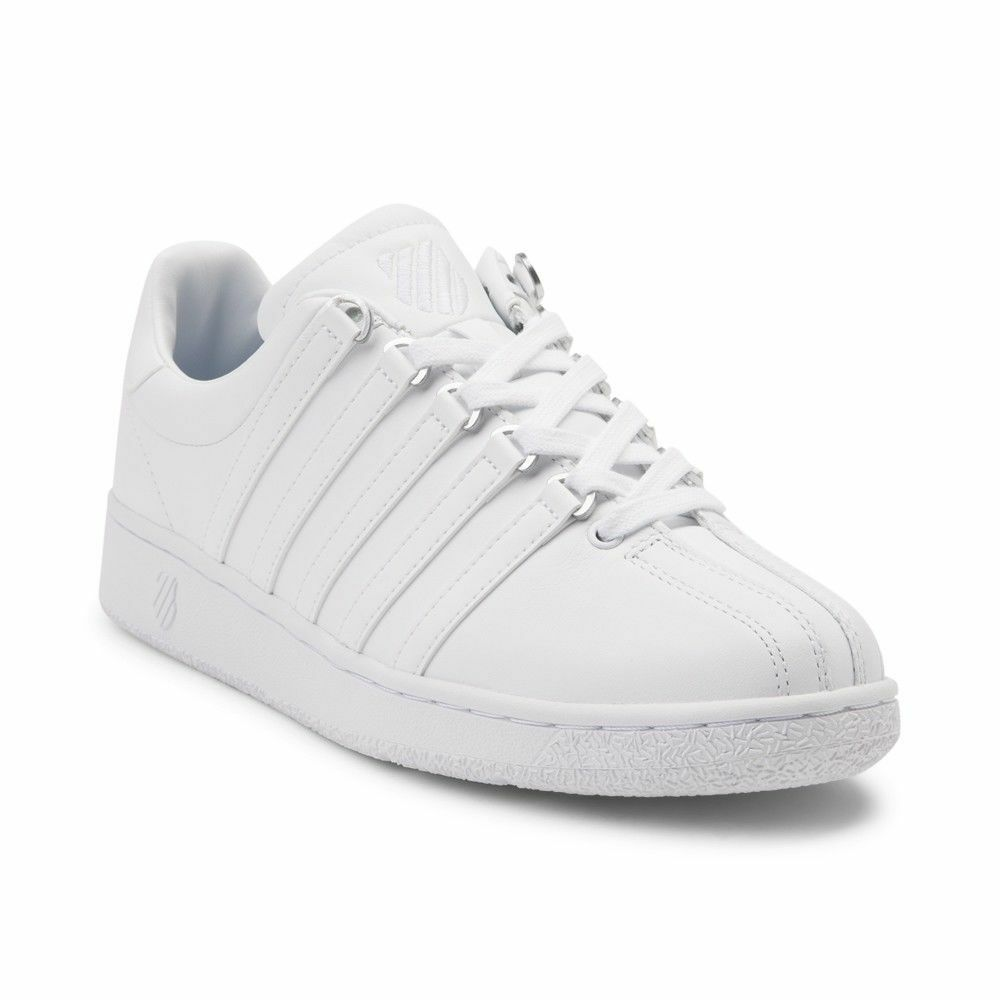 K Swiss Athletic VN Classic White Kids Boys Girls Yourh Shoes Sneakers  Sizes  eBay